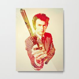 Clint Eastwood (The Fckin Man) Metal Print