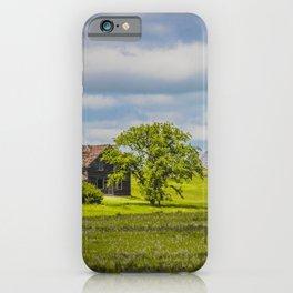 Jumbled Abandoned Farm, Burleigh County, North Dakota 1 iPhone Case