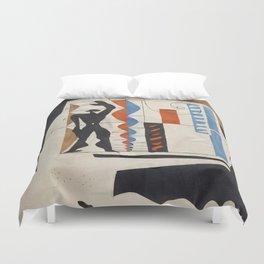 The Modulor Sketch by Le Corbusier Duvet Cover