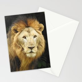 Lion the King of Beasts Stationery Cards