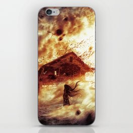 And Now... Kiss The Burning Darkness iPhone Skin