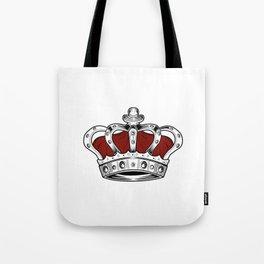 Crown - Red Tote Bag