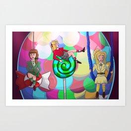 Heathers – Candy Store Art Print