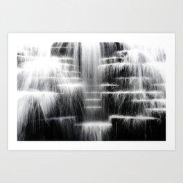 Aon Center Fountain Art Print