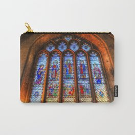 Bath Abbey Stained Glass Window Carry-All Pouch