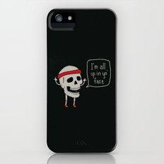 Skull in your Face iPhone (5, 5s) Slim Case