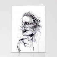 butterfly Stationery Cards featuring Tremore by agnes-cecile