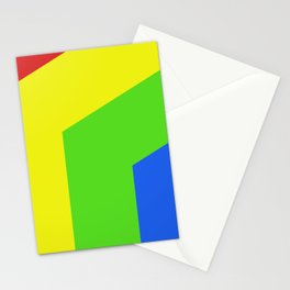 Band of Color Stationery Cards