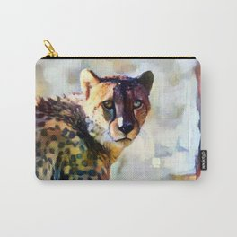 Your Cheetah Eyes Carry-All Pouch