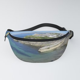 PORT ISAAC HARBOUR (PORTWENN IN DOC MARTIN) CORNWALL Fanny Pack