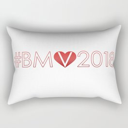 #BeMyValentine2018 Rectangular Pillow