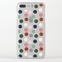 Tropical polka dots #homedecor Clear iPhone Case
