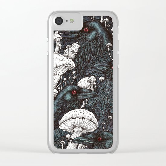 Decay Clear iPhone Case