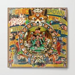 Beastie Boys Wow! Wow! Wow! Remix Tape Cover Metal Print