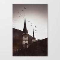 gothic Canvas Prints featuring Gothic  by Teo Dima