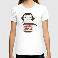 nutella T-shirts featuring Loki Loves Nutella? by Lily