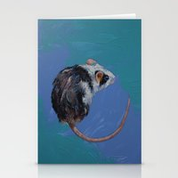 mouse Stationery Cards featuring Mouse by Michael Creese