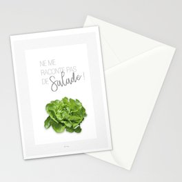 Affiche salade Stationery Cards