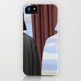 Decalcomania de Vader iPhone Case
