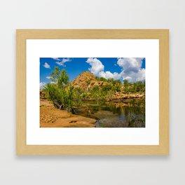 Bell Gorge Framed Art Print