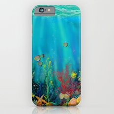 Undersea Art With Coral Slim Case iPhone 6s