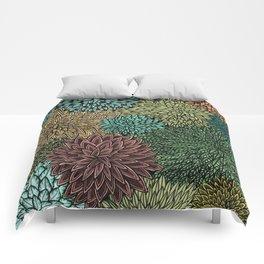 Ink  Pattern No.4 Comforters