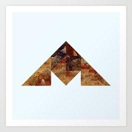 COAL MOUNTAIN Art Print