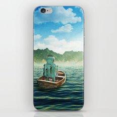 Swim back to shore iPhone & iPod Skin