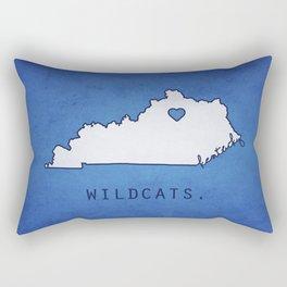 Kentucky Wildcats Rectangular Pillow