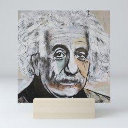 Albert Einstein E=mc2 Mini Art Print