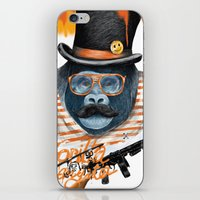 gangster iPhone & iPod Skins featuring Gangster by dogooder
