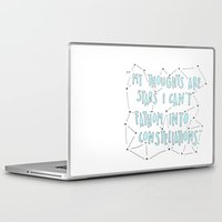 the fault Laptop & iPad Skins featuring The Fault in Our Stars by Christa Morgan ☽