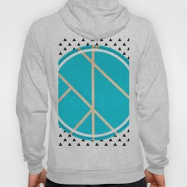 Leaf - small triangle graphic Hoody