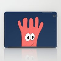 greg guillemin iPad Cases featuring Monster Greg by Chelsea Herrick