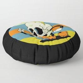 Skull Boy Floor Pillow