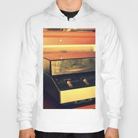 record Hoodies featuring record player by gzm_guvenc
