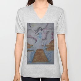 Annabel Lee. Unisex V-Neck