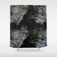 coconut wishes Shower Curtains featuring wishes by Pebbaline