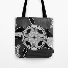 Circls n silhouetts Tote Bag
