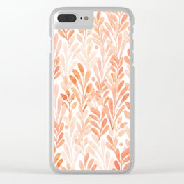 summer grass. seamless pattern Clear iPhone Case