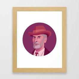 Queer Portrait - Edward Carpenter Framed Art Print