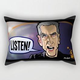 Listen Rectangular Pillow