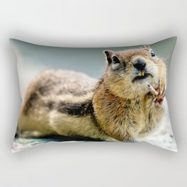 Talk to the Hand by OLena Art Rectangular Pillow
