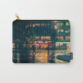 Wet street of Shinjuku Carry-All Pouch