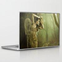 oasis Laptop & iPad Skins featuring Oasis by Orina Kafe