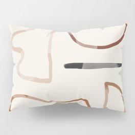 Minimal Abstrac Line Shapes 3 Pillow Sham