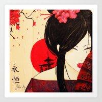Geisha - Japan Art Print