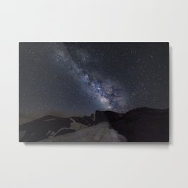 Milkyway at the mountains. Scorpius and Sagitarius Metal Print