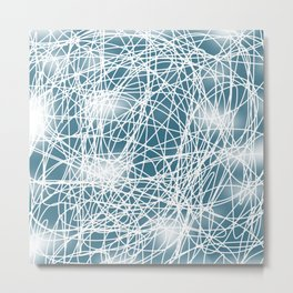 Abstract 360 Metal Print