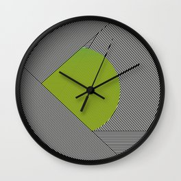 dot & stripes Wall Clock